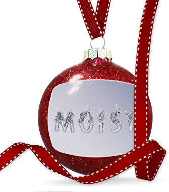 NEONBLOND Christmas Decoration Moist Clear Water Yoga Ornament