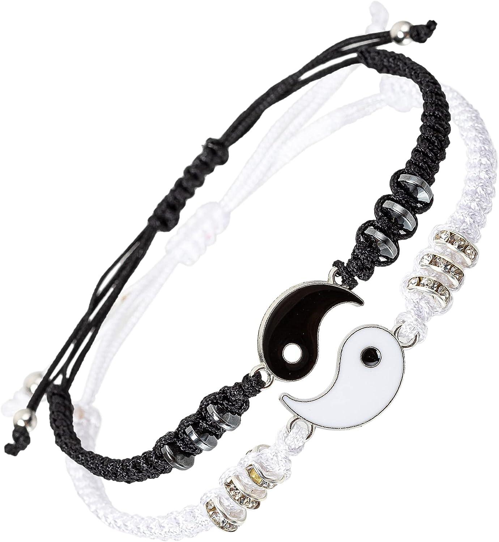 kelistom Handmade String Bracelet for Women Men Girls Boys Simpl