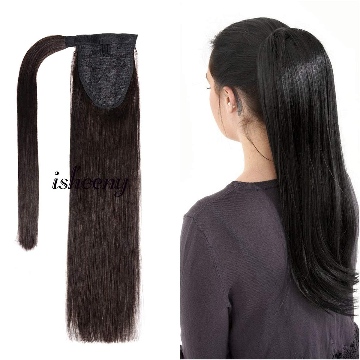 Human Ponytail Extensions Piece Women