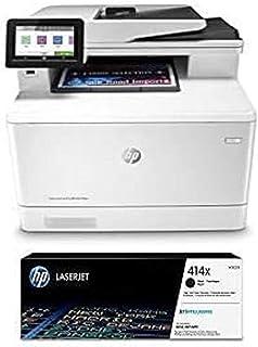 HP Color Laserjet Pro Multifunction M479fdw Wireless Laser Printer (W1A80A) with High Yield Black-Toner-Cartridge