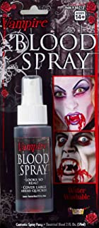 Rubie's Costume Co Spirit Zombie Blood Spray Black One Size Fits Most