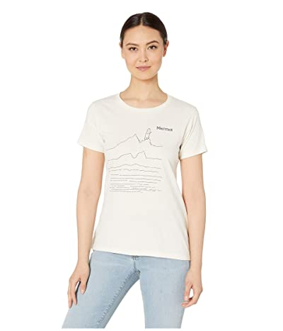 Marmot Caligata Short Sleeve Tee (Turtle Dove Heather) Women
