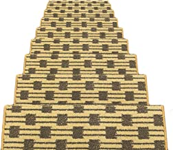 HAIPENG Rectangular Non Slip Stair Carpet Treads Pads Mats Step Rugs Staircase Ottomans, 12mm, 3 Sizes, 5 Colors (Color : ...
