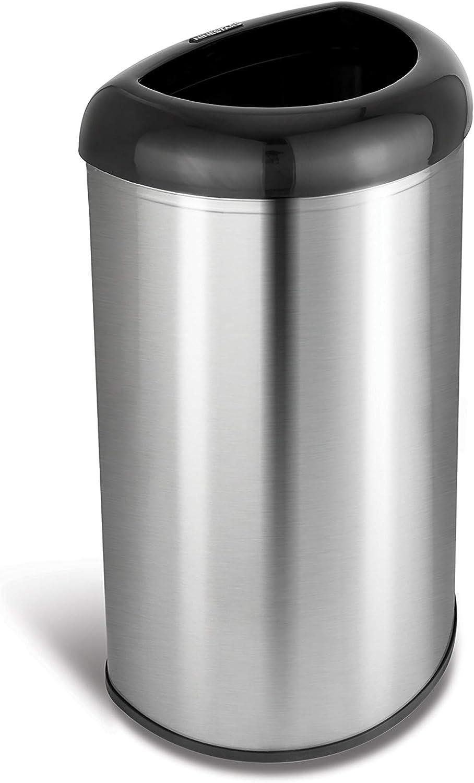 Ninestars Trash kann, schwarz B07B15PSF8   Stil