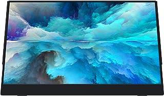 VIOTEK LinQ 16 Inch Portable Monitor – Full HD 1080P Thin IPS Panel w/Built in Speakers, (2X) USB Type C, (1x) HDMI Mini, ...