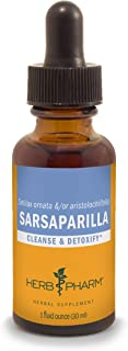 Herb Pharm Sarsaparilla Liquid Extract for Cleansing and Detoxification - 1 Ounce