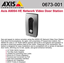 AXIS Communications 0673-001 Axis A8004-Ve Network Video Do or Station