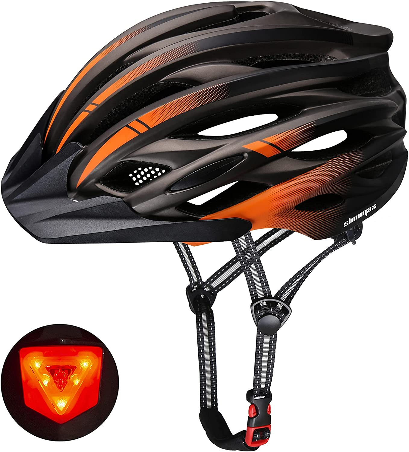 Bike Helmet We OFFer at Deluxe cheap prices Shinmax Bicycle Men Light with Det Women LED