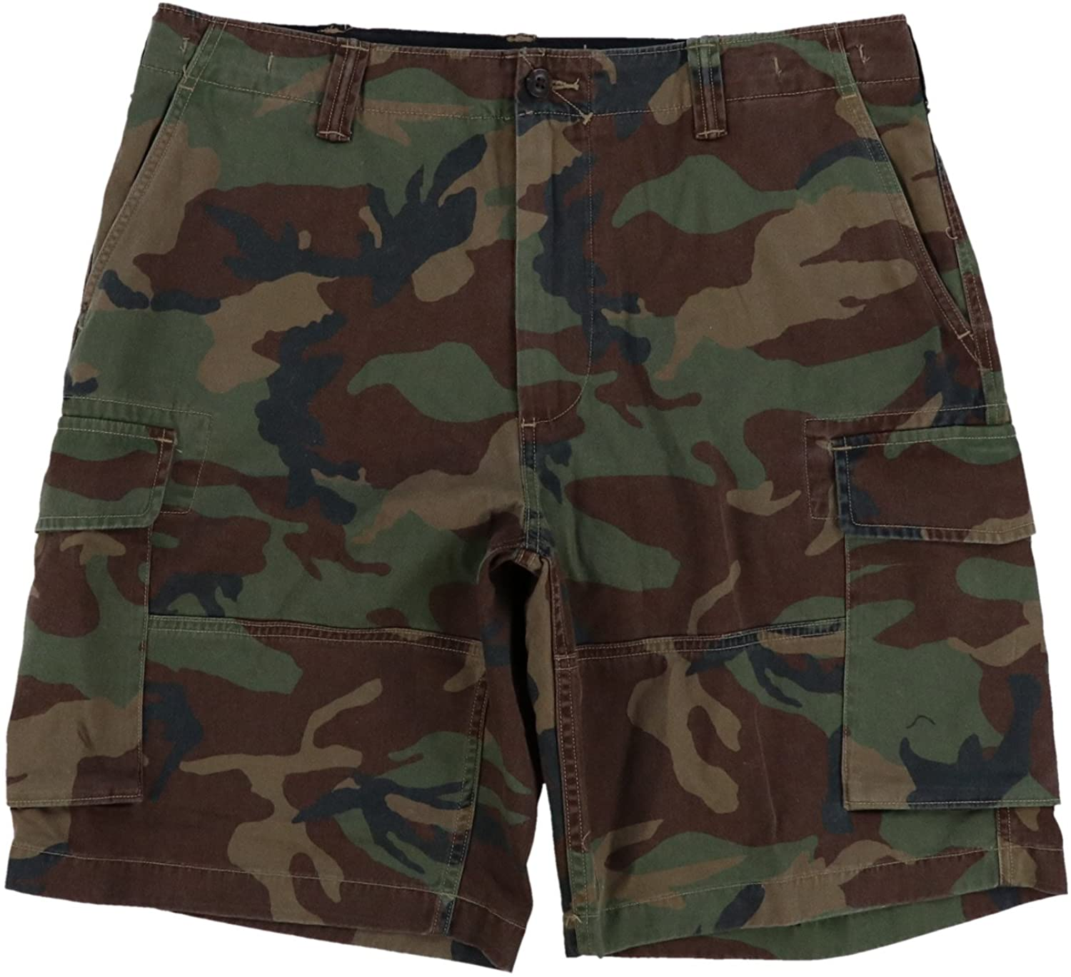 Polo Ralph Lauren Mens free shipping Boston Mall Relaxed Fit 40 Camo Green Shorts Cargo