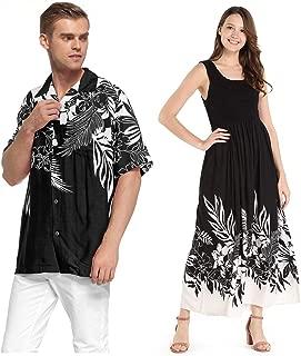 matching mens and womens hawaiian shirts