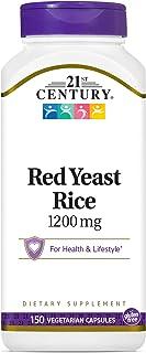 21ST CENTURY Red Yeast Rice Vegicaps 150 vegetarian capsules Multi