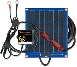 PulseTech SolarPulse SP-7 Solar Battery Charger Maintainer, Blue, 7 Watt