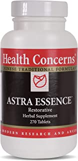 Health Concerns - Astra Essence - Restorative Chinese Herbal Supplement - Modified Zuo Gui Wan/You Gui Yin - Degenerative Disease Relief - with Astragalus Root And Seed - 270 Tablets per Bottle