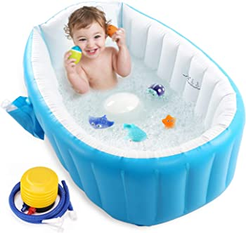 Intime Baby Non-slip Inflatable And Portable Bathtub