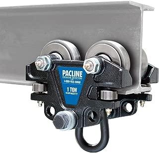 Pacline 09-012-00002, Hand Push Beam Trolley, 1 Ton Capacity