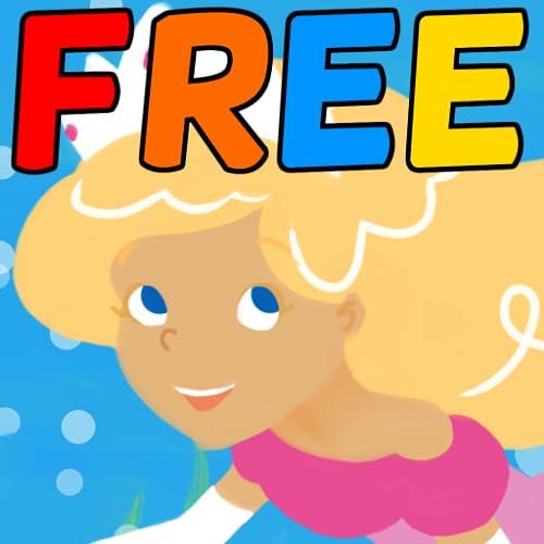 Jogos de Contos de Fadas: Quebra-Cabeças Princesa Sereia - Grátis