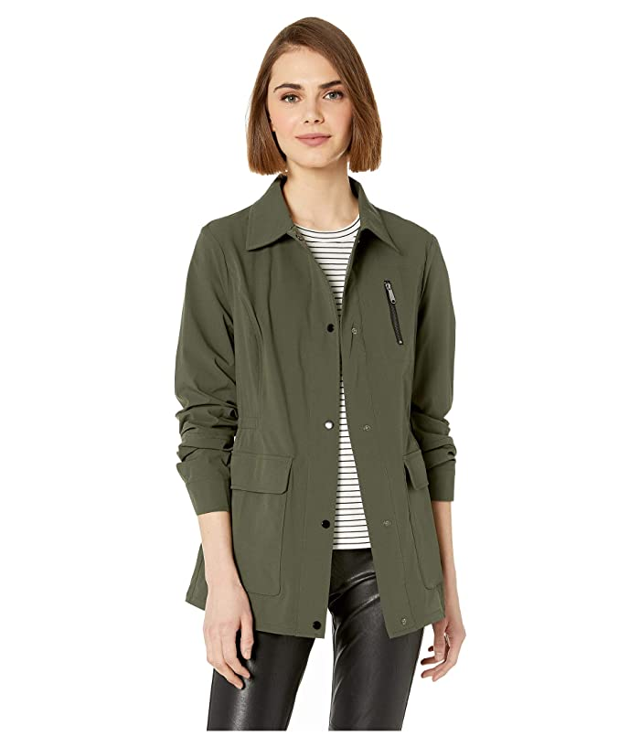 Sam Edelman Shirt Jacket (Olive) Women