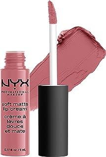 NYX PROFESSIONAL MAKEUP Soft Matte Lip Cream, High-Pigmented Cream Lipstick - Beijing, Light Dusty Rose