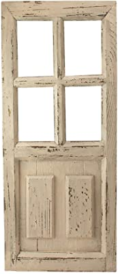 Amazon Com Deco 79 Rustic Arched Door Inspired Wood And