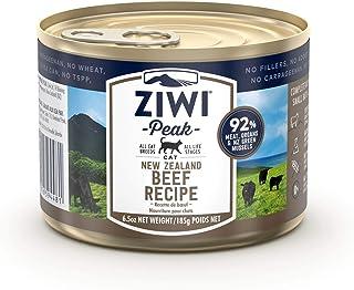 ZiwiPeak ジウィピーク キャット缶 NZグラスフェッドビーフ 185g
