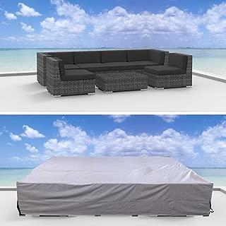UrbanFurnishing Premium Outdoor Patio Furniture Cover (10.2' x 6.0' x 2.3')
