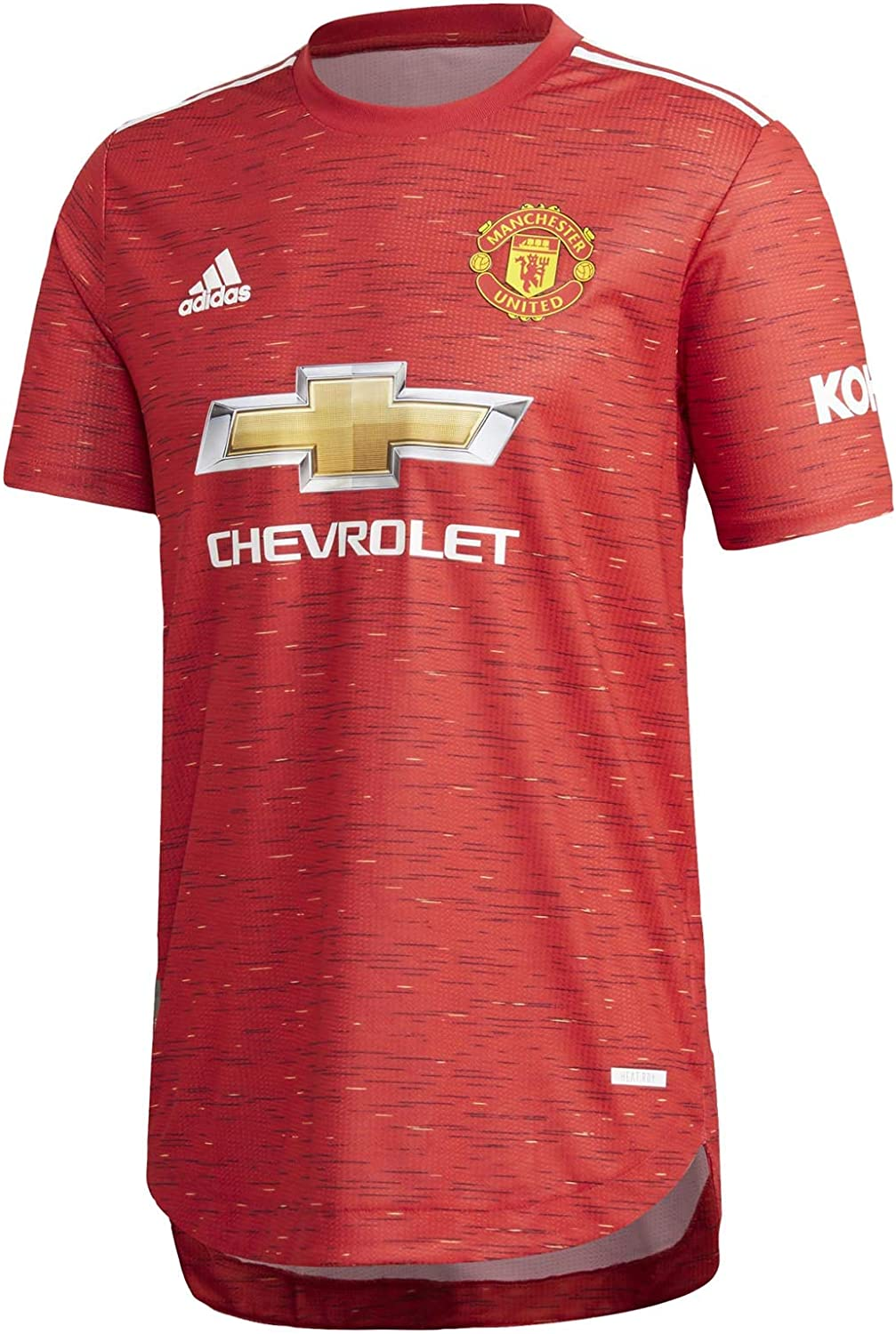 Mens Manchester United Authentic Soccer Jersey 2020-21