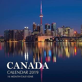 calendar for 2019 canada