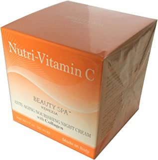 Nutri-C2 Nourishing Night Cream with Vitamin C and Collagen 1.7 OZ Anti- Aging