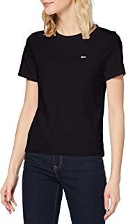 Tommy Jeans Dames T-Shirt TJW REGULAR JERSEY C NECK