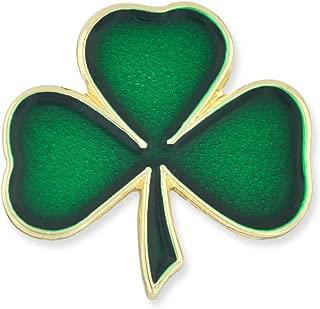 Lucky Green Shamrock 3 Leaf Clover St. Patrick's Day Enamel Lapel Pin