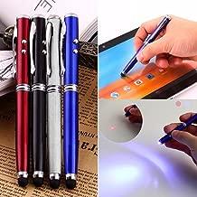 0.5 mm Bolígrafo con Luz Bolígrafo de Pantalla Táctil Suministros de Oficina Escolar