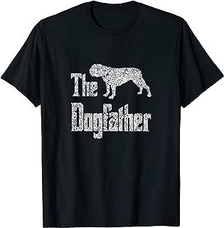 The Dogfather - funny Old English Bulldog T-Shirt, dog gift