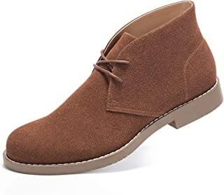 GM GOLAIMAN Men`s Chukka Boots Casual Suede Desert Shoes