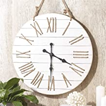 Two's Company Wall Hang Rope Clock