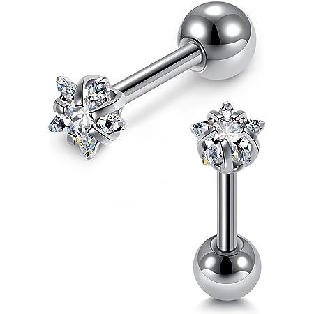Rose Earring Opal Rhinestone Earring Pink Earring Stainless Steel Stud Earring ~ 12 mm Matte Pearl Earring