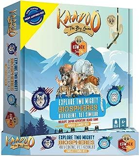 KAADOO Mighty Himalayas & N.America-2 in 1 Adventure Safari Board Game Combo