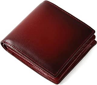 (ラファエロ) Raffaello 一流の革職人が作る スフマート製法で仕立てたメンズ二つ折財布