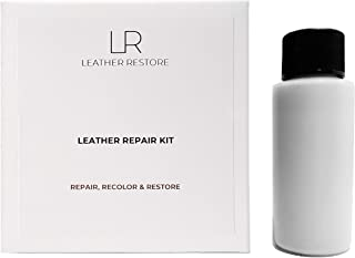 Leather Repair Kit with READY TO USE Color, SILVER GRAY