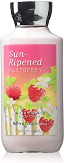 Bath & Body Works Sun-ripened Raspberry Shea & Vitamin E Body Lotion, 8 Ounce
