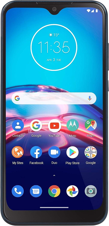 Net10 Motorola Moto e 4G LTE Prepaid Smartphone (Locked) - Midnight Blue - 32GB - Sim Card Included - CDMA