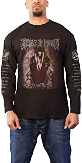 T Shirt Cruelty and The Beast Official Black Mens Long Sleeve