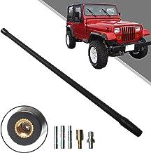 MFC 7 Stubby Reflex Antenna for Jeep Wrangler JK 2007-2018 /& Jeep Wrangler JL 2018-2020 /& Jeep Wrangler TJ 1997-2006 for Optimized FM//AM Reception