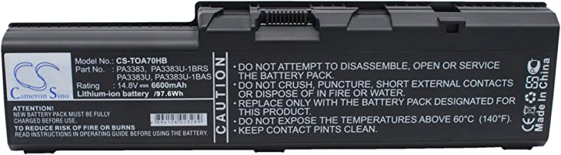 Battery Replacement for Toshiba Satellite A70, Satellite A70-S2362