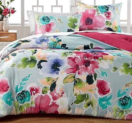 Hallmart Collectibles Amanda Full/Queen Comforter Set 3-Pc. Reversible
