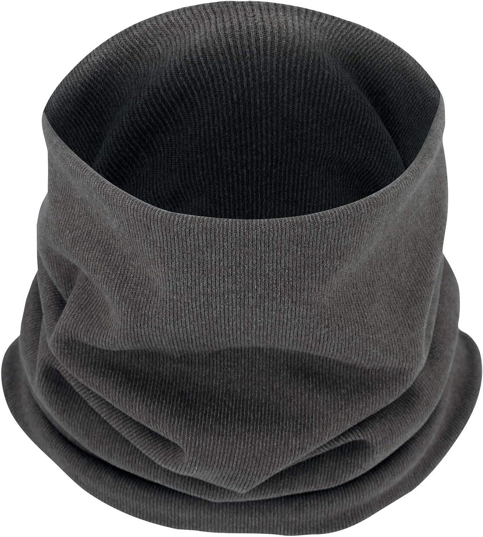 B BINMEFVN Double Layer Neck Warmer Winter Fleece Cold Weather Face Mask Neck Gaiter for Men Women