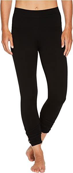 Hard Tail - High-Waist Contour Rolldown Wrap Around Capri Leggings