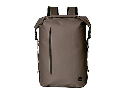 KNOMO London Thames Cromwell Roll Top Backpack (Khaki) Backpack Bags