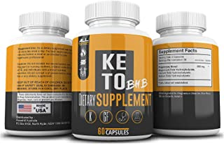 Keto BHB Pills As Seen On Tv Fat Burner: Weight Loss for Men and Women -BHB Salts Supplement. Ketones for Ketogenic Diet Best to Burn Fat to Support Energy, Enhance Mental Focus & Clarity - 30 Day