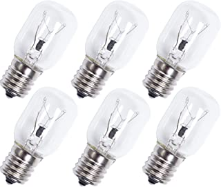 Ultra Durable 8206232A Microwave Light Bulb Replacement Part by Blue Stars - Exact Fit for Whirlpool & Maytag Microwaves - Replaces 8206232A 1890433 8206232 AP4512653 - Pack of 6