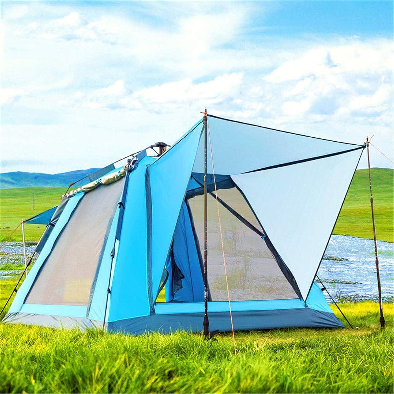 Anti-UV,SpaciousZelt, 3-4 Personen Quick Opening Automatic Family Party Camping Zelte Zelte Zelte Regenschutz Sunscreen Zelt (210  210  140cm),A,210  210  140cm B07PCL3Y2C  Ausgewählte Materialien 604a10